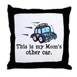 Mom Is A Cop Throw Pillow