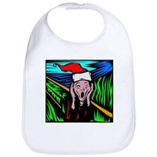The Christmas Scream Bib