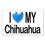 My Chihuahua Rectangle Sticker