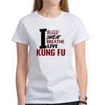 Bleed Sweat Breathe Kung Fu Women's T-Shirt