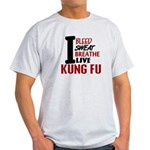 Bleed Sweat Breathe Kung Fu Light T-Shirt