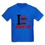 Bleed Sweat Breathe Kung Fu Kids Dark T-Shirt