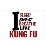 Bleed Sweat Breathe Kung Fu Postcards (Package of