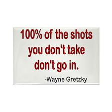Wayne Gretzky quote Rectangle Magnet