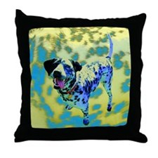 Spot Dog Throw Pillow