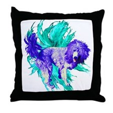 Lion Puppy Throw Pillow
