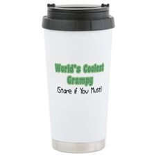 World's Coolest Grampy Ceramic Travel Mug