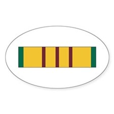 Vietnam Service Oval Decal