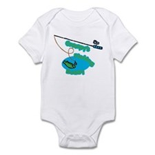 Grampy's Fishing Buddy Infant Bodysuit