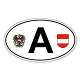 Austria car sticker