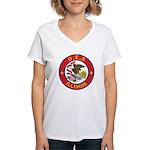 Illinois O.E.S. Women's V-Neck T-Shirt