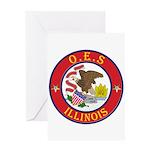 Illinois O.E.S. Greeting Card