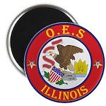 Illinois O.E.S. Magnet