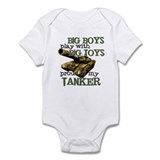 Big Boys Play with Big Toys T  Baby Onesie