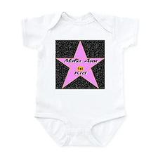 Malia Ann 1st Kid Infant Bodysuit