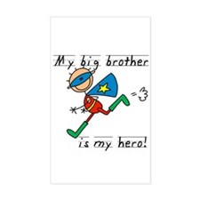 Big Brother My Hero Decal