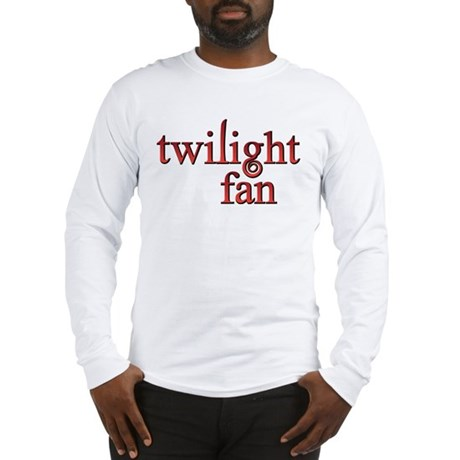 Twilight Fan Red Long Sleeve T-Shirt