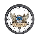 Soccer Maine Wall Clock