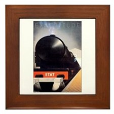 Norway Norwegian Railway Framed Tile