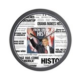 Obama: From Dream to History Wall Clock