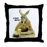 Cute Australia Throw Pillow