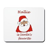 Hallie Christmas Mousepad