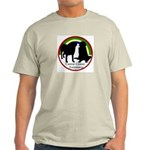 Canine Cancer Ash Grey T-Shirt