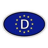 Germany car sticker (Europe)