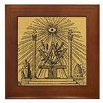 The Pine Altar Framed Tile