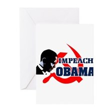 Impeach Obama Greeting Cards (Pk of 20)