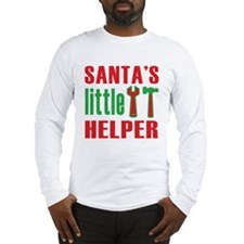 Santa's Little Helper Long Sleeve T-Shirt