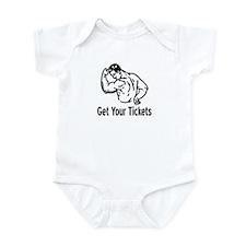 Get Your Tickets Infant Bodysuit
