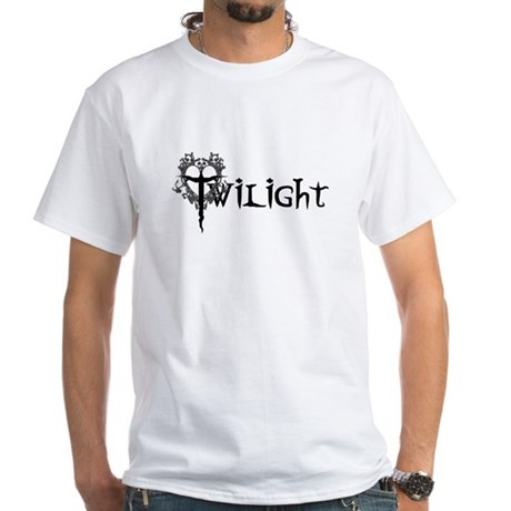 Twilight Movie White T-Shirt