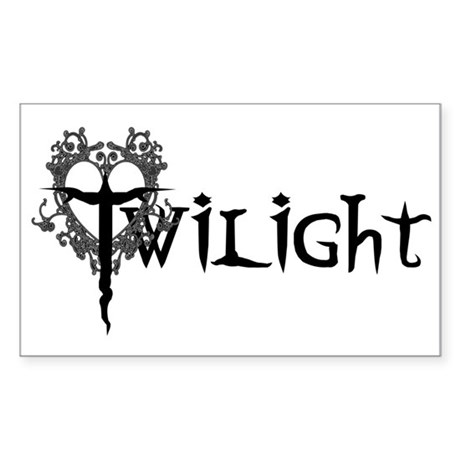 Twilight Movie Rectangle Sticker