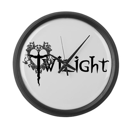 Twilight Movie Large Wall Clock