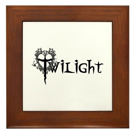 Twilight Movie Framed Tile