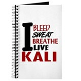 Bleed Sweat Breathe Kali Journal