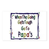 Go To Papa's Postcards (Package of 8)