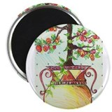 "TUSCAN FRUIT URN 2.25"" Magnet (10 pack)"
