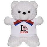 Bleed Sweat Breathe Judo Teddy Bear