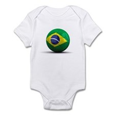 Brazilian Soccer Ball Infant Bodysuit