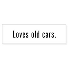 Car Collector Bumper Sticker (10 pack)