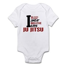 Bleed Sweat Breathe Ju Jitsu Infant Bodysuit