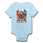 Strogonov Family Crest Infant Creeper