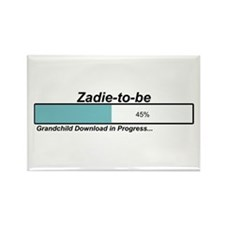 Download Zadie to Be Rectangle Magnet