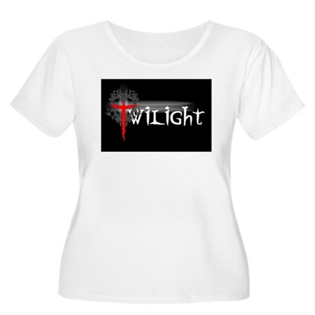 Twilight Movie Women's Plus Size Scoop Neck T-Shir