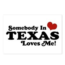 Somebody in Texas Loves Me Postcards (Package of 8