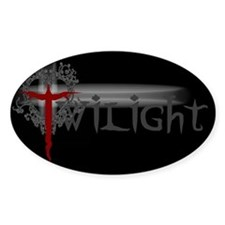 Twilight Movie Oval Sticker (50 pk)