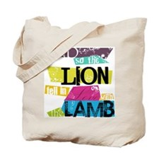 Lion <3 Lamb Tote Bag
