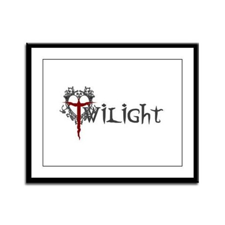 Twilight Movie Framed Panel Print